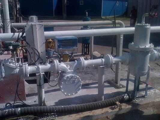 Izolare tevi/conducte combustibili + robineti - Arad, aprilie 2013
