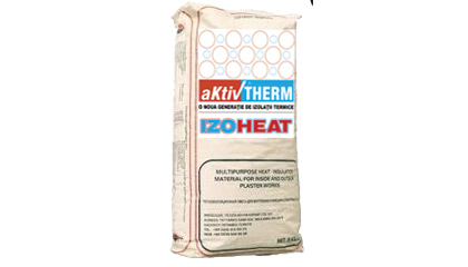 IZOHEAT 01A - cu ciment alb