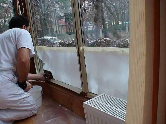 Termoizolatie balcon si pereti interiori - garsoniera parter
